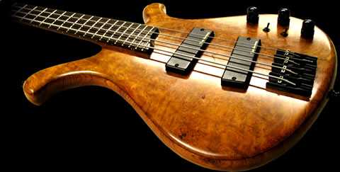 Ruach Bass Guitar - Custom Hand Made Alpha Bass Guitar